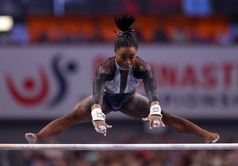 Simone Biles at the U.S. Gymnastics Championships
