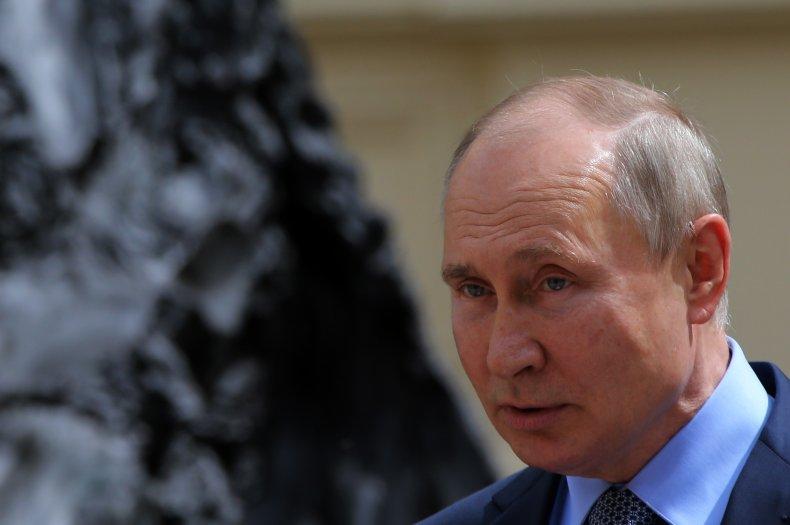 President Putin Opens Monument To Alexander III