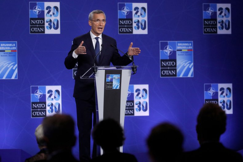 NATO Secretary General Speaks at Summit