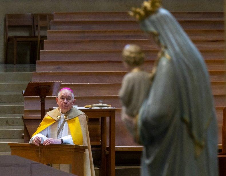Archbishop Jose Gomez Livestream Service