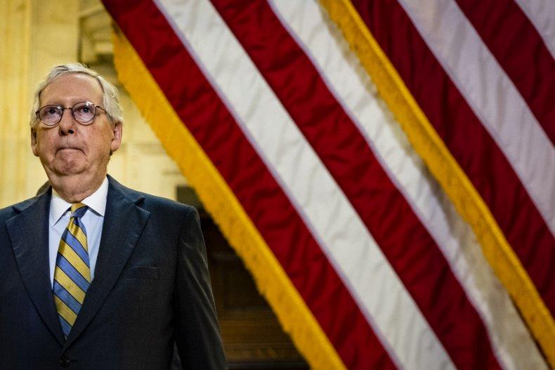 McConnell 'Unlikely' GOP Advance Biden SCOTUS Pick