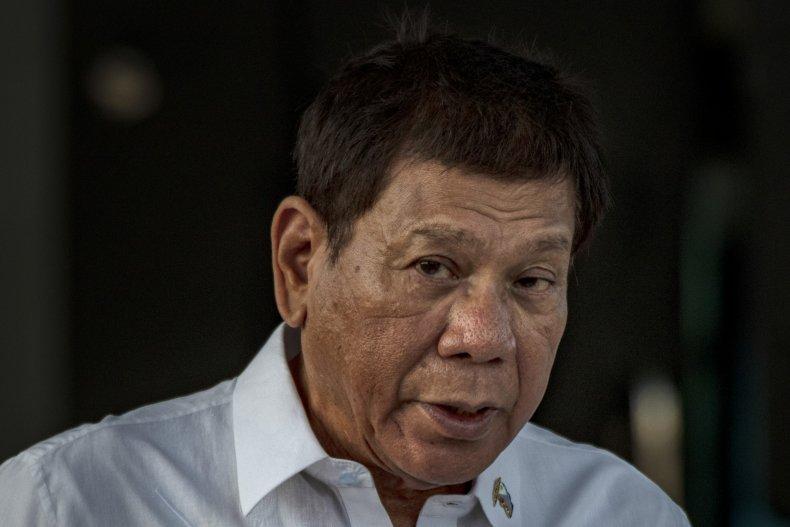 Philippine President Rodrigo Duterte Vaccine Speech
