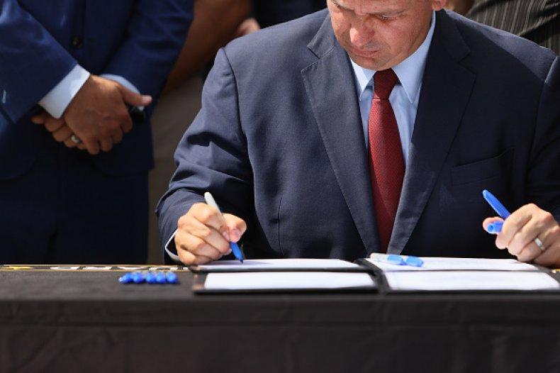 Ron DeSantis Signs New Bill Emergency Response