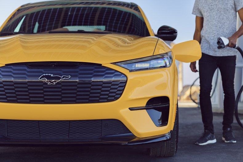2021 Ford Mustang Mach-E GT Performance charging