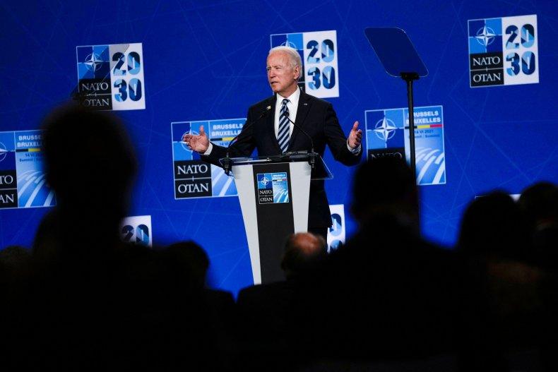 U.S. President Joe Biden After NATO Summit