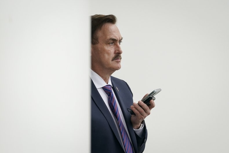 Mike Lindell Donald Trump 2020 Election Conspiracy