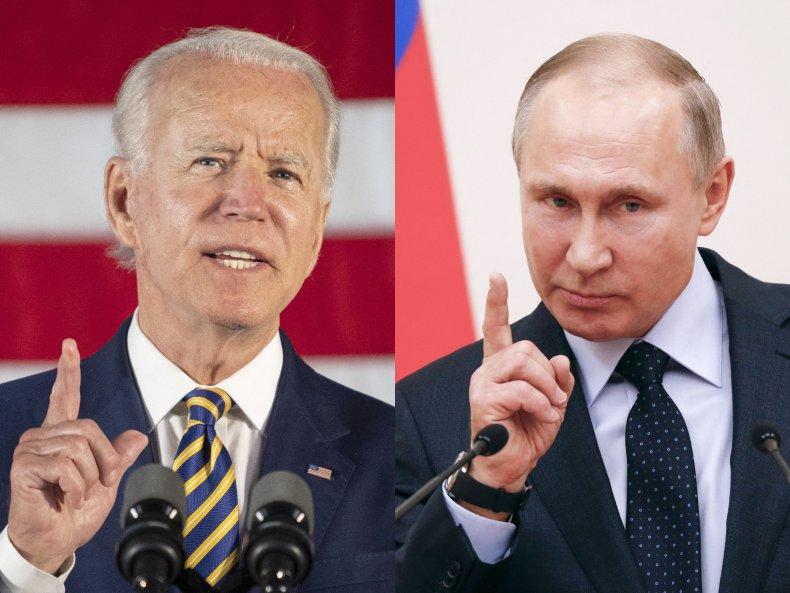 Joe, Biden, and, Vladimir, Putin, combo