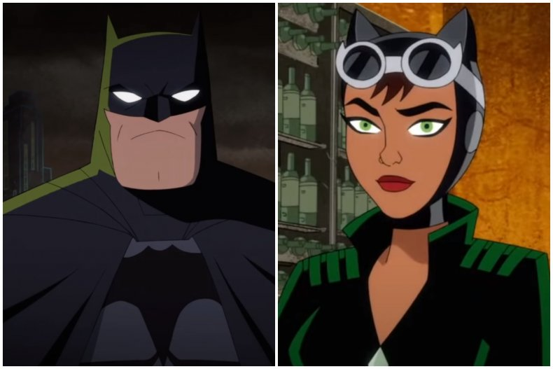 """Batman and Catwoman feature in """"Harley Quinn"""""""