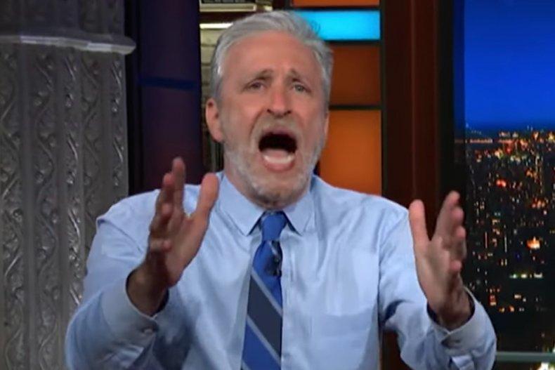 Jon Stewart shares COVID-19 theory