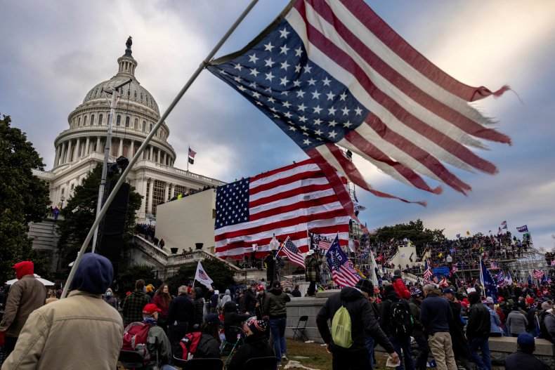 Pro-Trump Protesters Gather at the Capitol