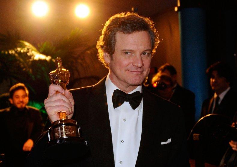 Colin Firth's Oscar for The King's Speech