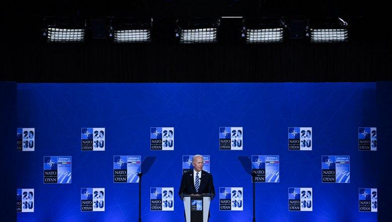 President Joe Biden Speaks At NATO Summit
