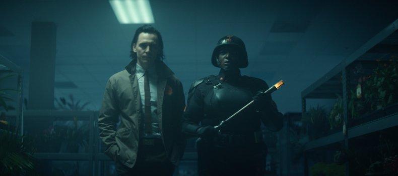 Tom Hiddleston and Wunmi Mosaku