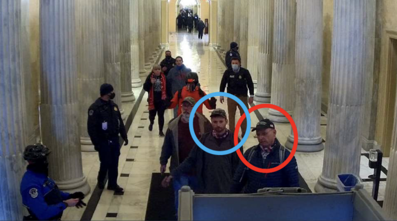 Capitol Riot Father Son Federal Charges