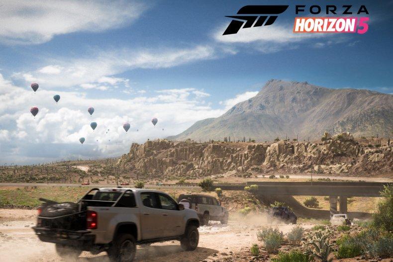 Forza 5 Horizon Chevrolet Colorado ZR2