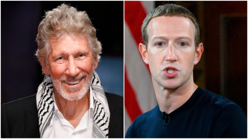 Roger Waters lashes out at Mark Zuckerberg