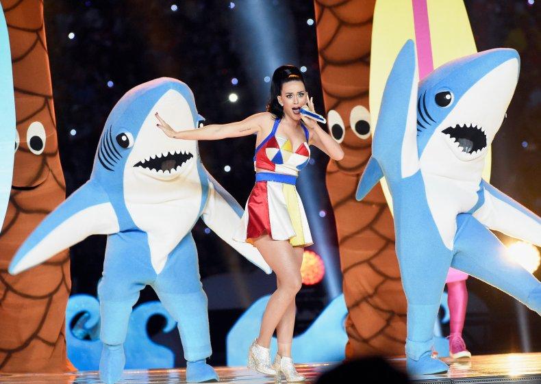 Katy Perry Left Shark Meme