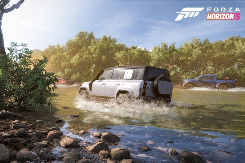 Forza Horizon 5 Land Rover Defender 110