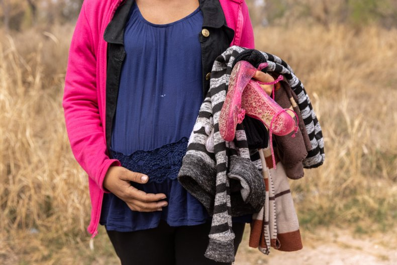 Pregnant asylum seeker from Honduras