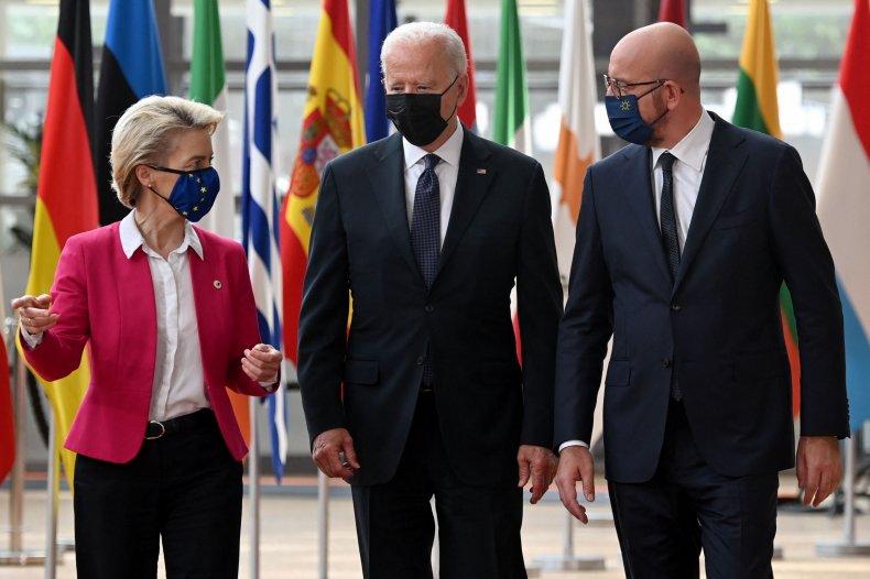 Biden and European Union Leaders