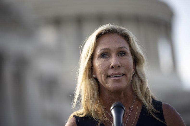 Marjorie Taylor Greene calls for Fauci's firing