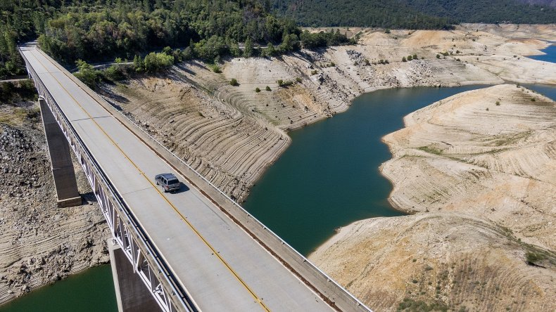Lake Oroville Drought