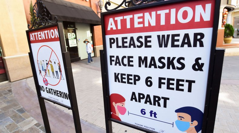 mask reminders California