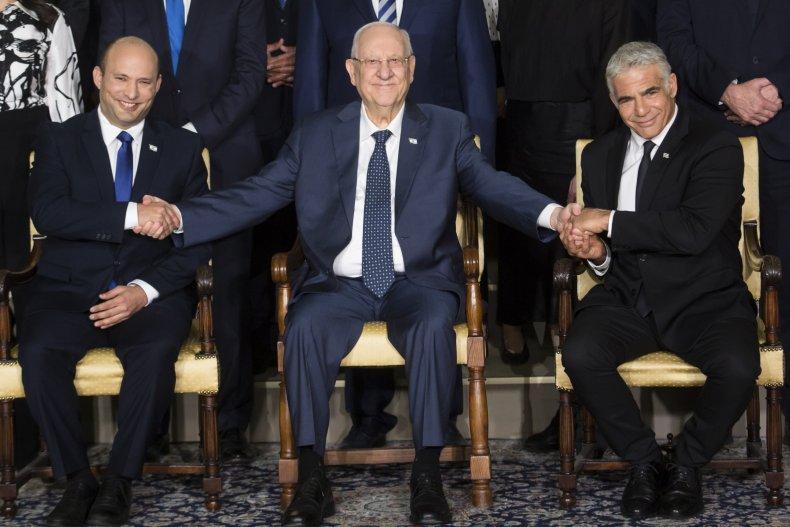 JERUSALEM, ISRAEL - JUNE 14: Israeli President