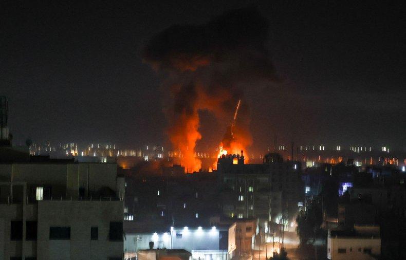 israel gaza airstrike