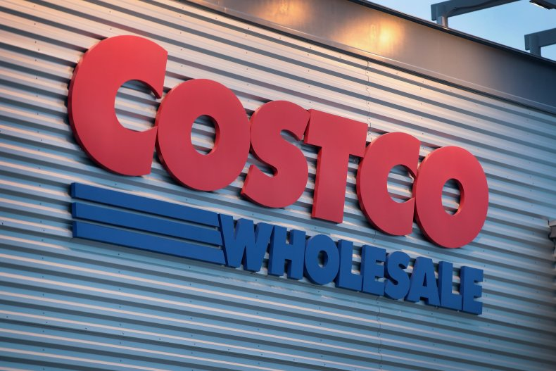 Image of Costco logo and store