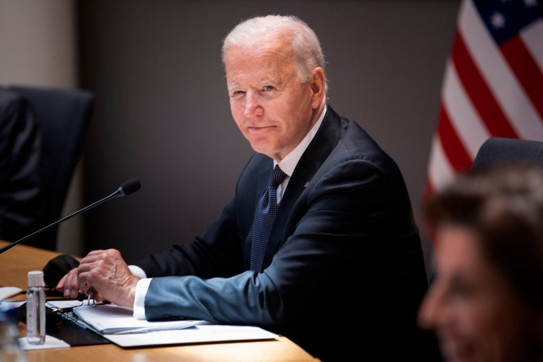President Joe Biden Attends U.S.-EU Summit