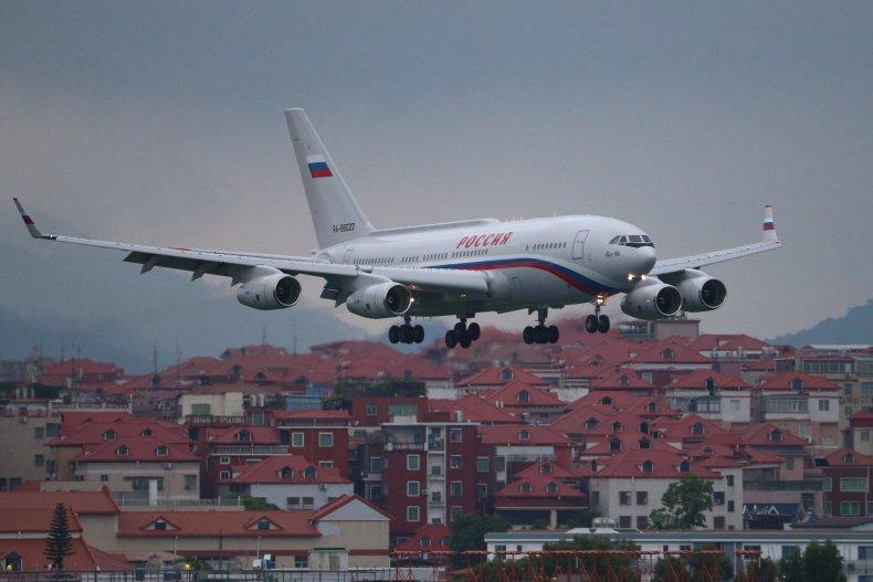 Russian presidential plane Ilyushin Il-96-300PU