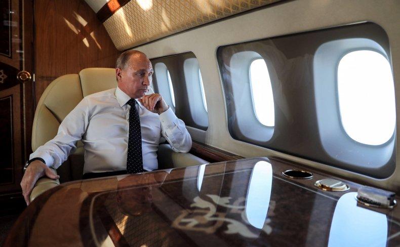 Vladimir Putin Russia Presidential Plane
