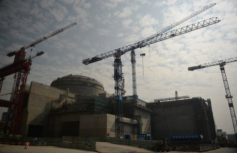 Taishan nuclear power plant pictured in 2013