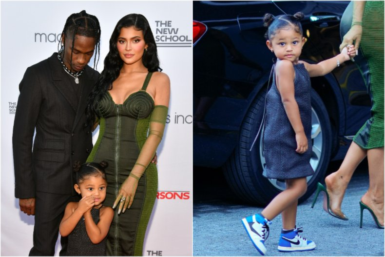 Kylie Jenner welcomed daughter Stormi in 2018