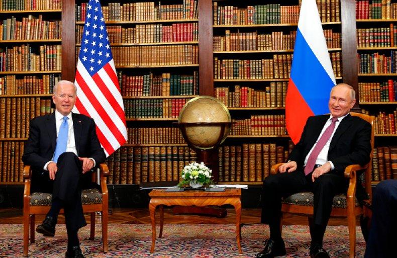 Joe Biden Vladimir Putin Summit Trump Helsinki