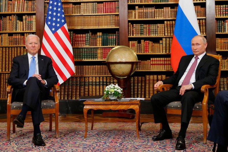 Biden, Putin meet to lower tensions