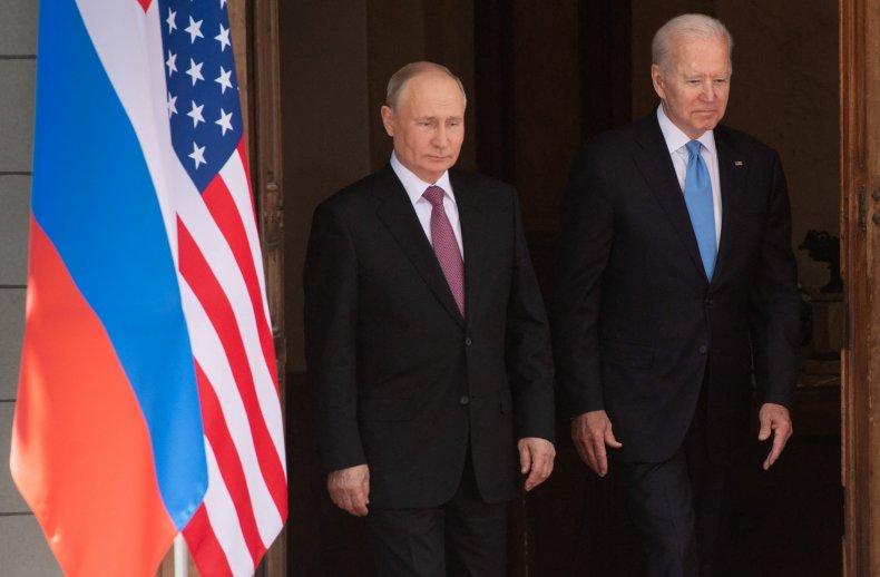 Biden Spars With Reporter Over Putin
