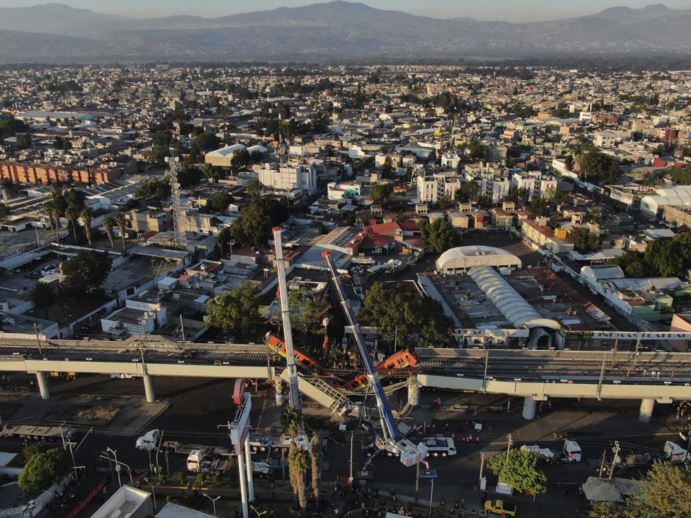 Subway Collapse That Killed 26 Blamed on Defects From Company of Mexico's Richest Man