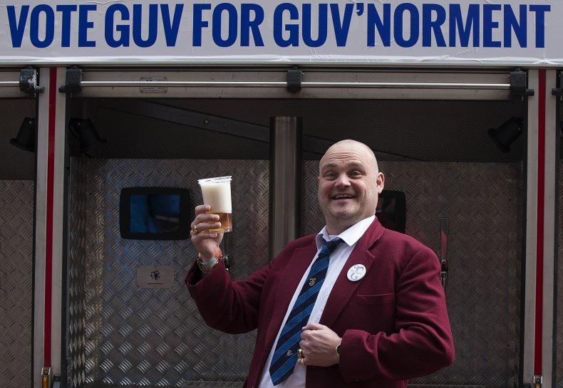 Al Murray campaigns in 2015 election