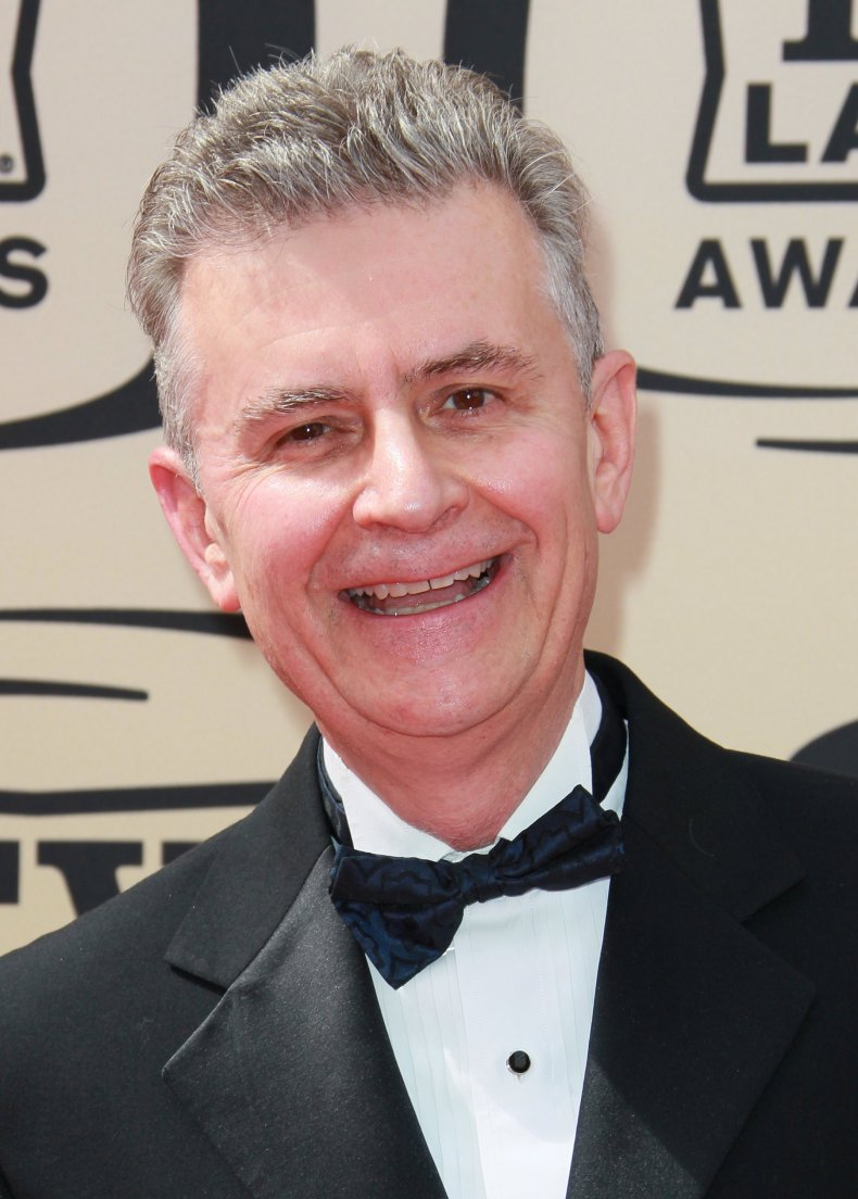 Fred Grandy on red carpet