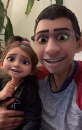 Snapchat's Cartoon 3D Style lens