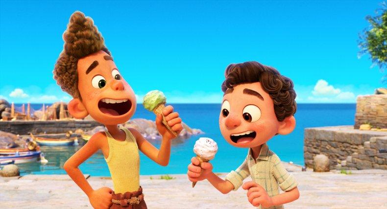 Alberto and Luca in Disney's Luca