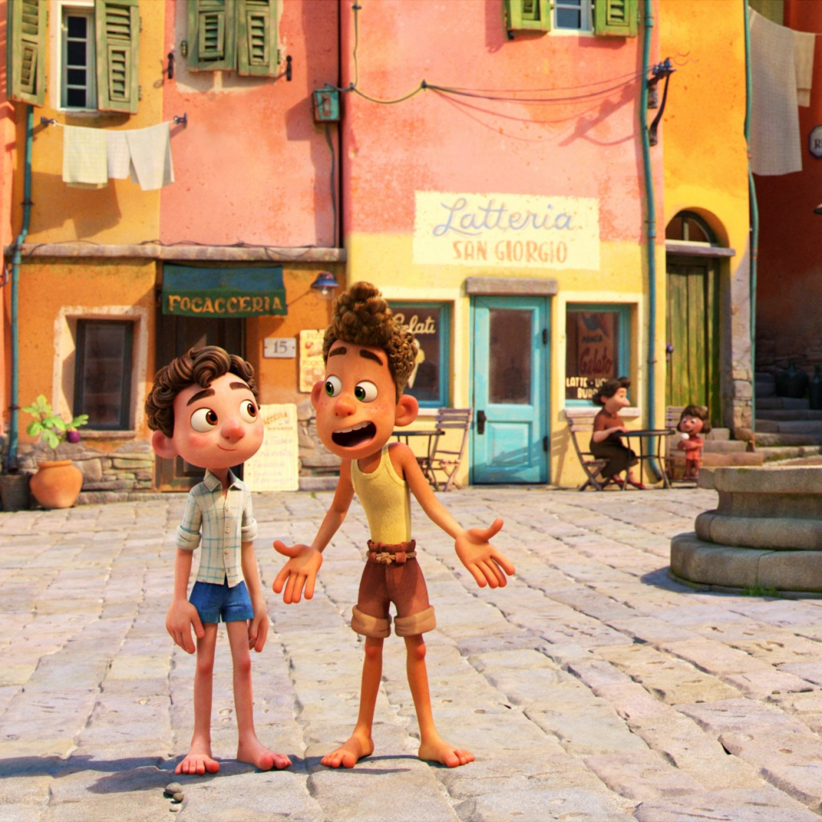 The local children in Italy have given all the background kid voices in Luca
