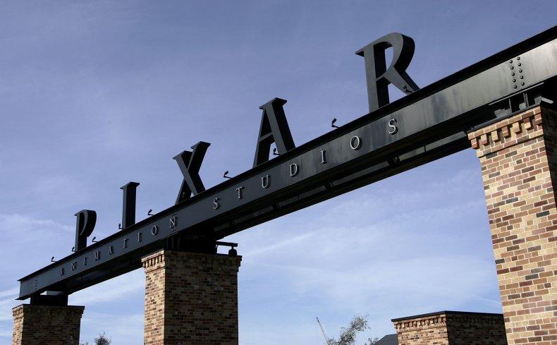Disney Pixar logo at the studios