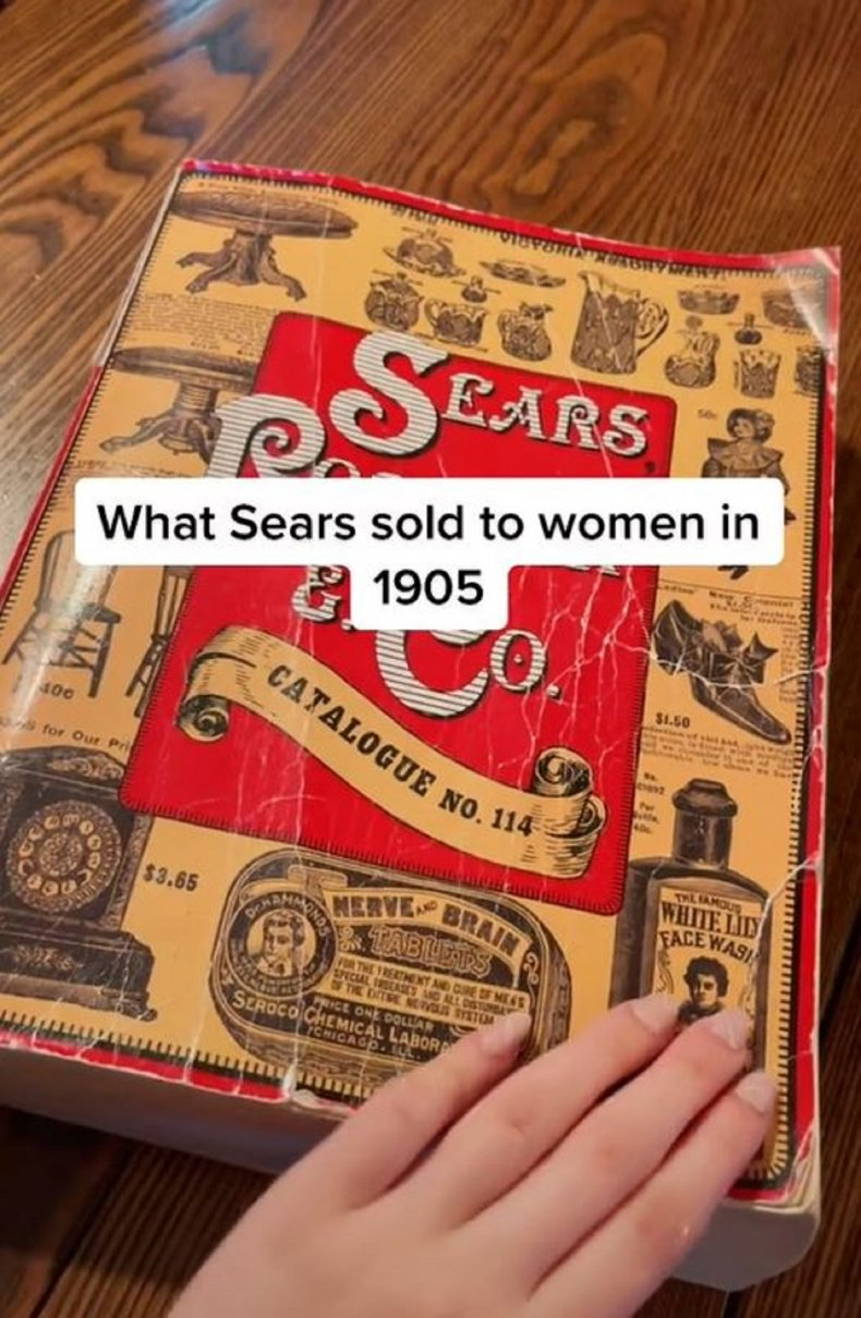 A resurfaced Sears catalog from 1905.