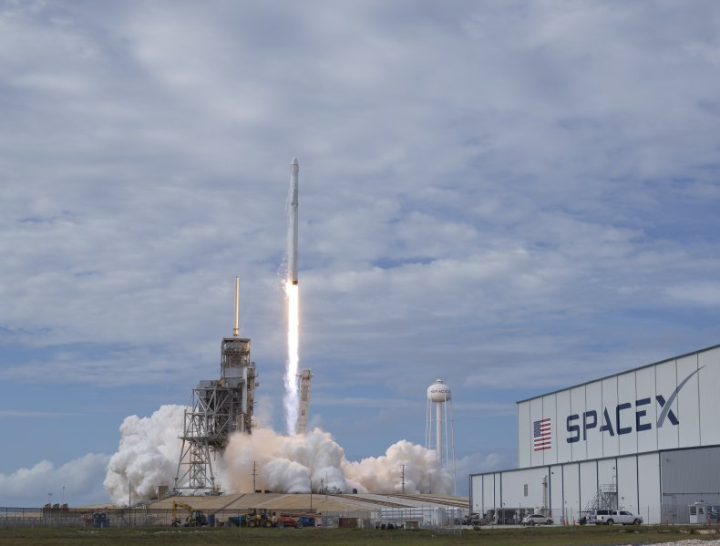 spacex launch falcon 9, getty