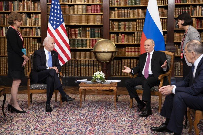 Biden and Putin Geneva Meeting