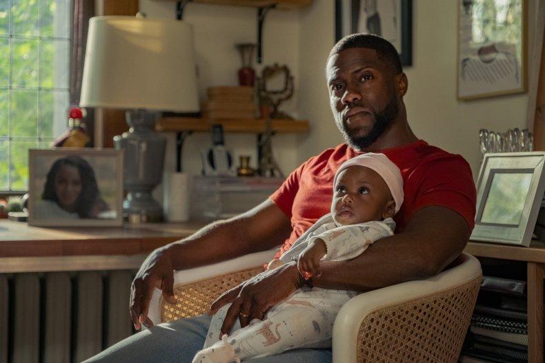Kevin Hart in Netflix movie Fatherhood