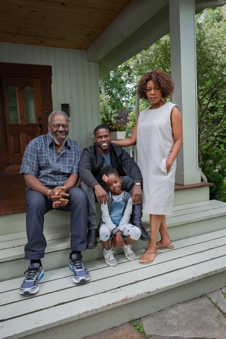 The cast of Fatherhood on Netflix